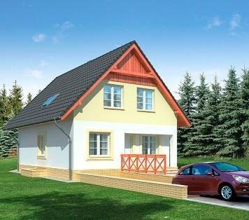 Projekt domu LK&642