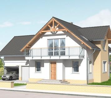 Projekt domu LK&635