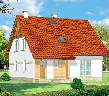 Projekt domu LK&627