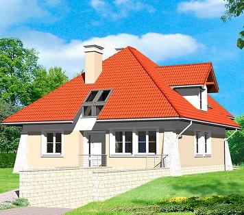 Projekt domu LK&625