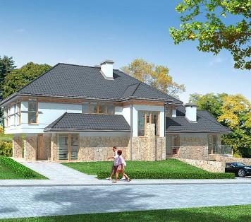 Projekt domu LK&620