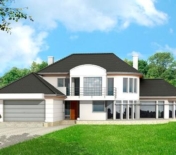Projekt domu LK&608