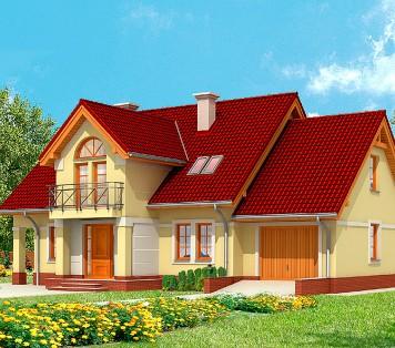 Projekt domu LK&604