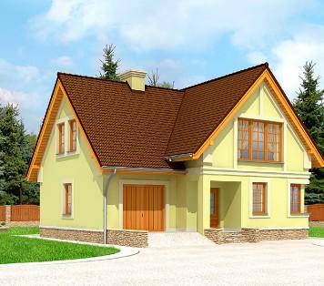 Projekt domu LK&595