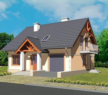 Projekt domu LK&589
