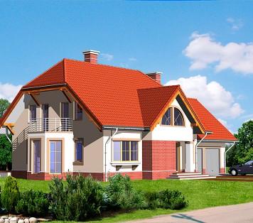 Projekt domu LK&586