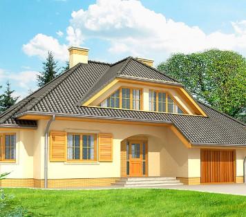 Projekt domu LK&569