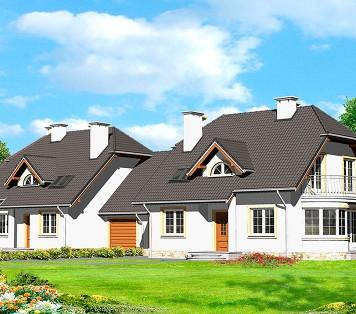 Projekt domu LK&566