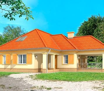 Projekt domu LK&213