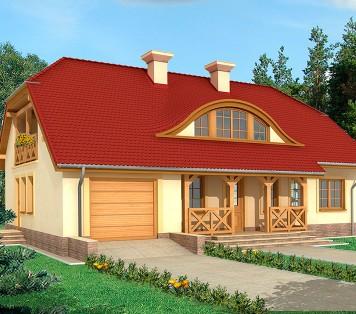 Projekt domu LK&553