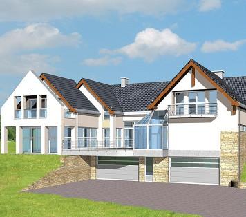 Projekt domu LK&18