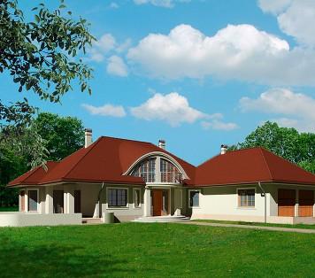 Projekt domu LK&546
