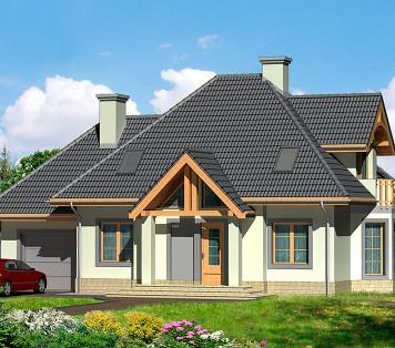 Projekt domu LK&542