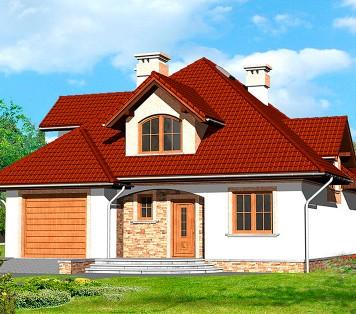 Projekt domu LK&540