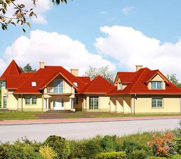 Projekt domu LK&524
