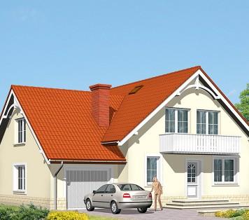 Projekt domu LK&512