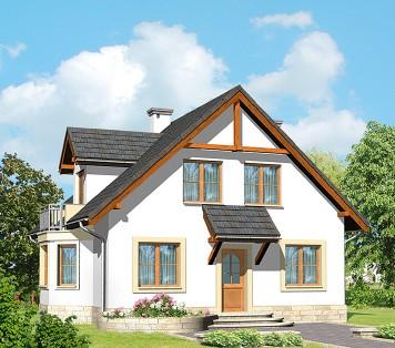 Projekt domu LK&497
