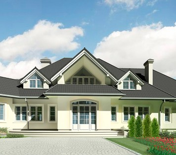 Projekt domu LK&491