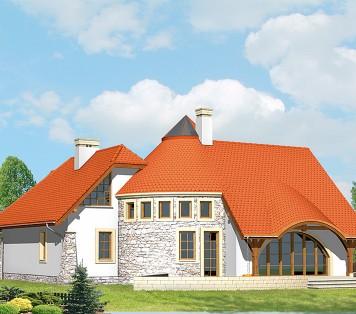 Projekt domu LK&477