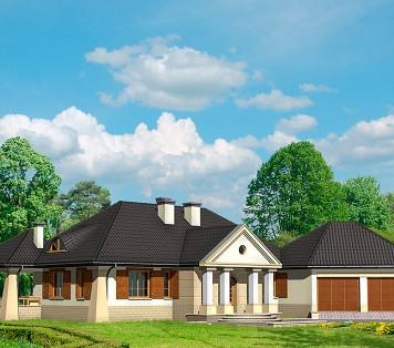 Projekt domu LK&465