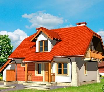 Projekt domu LK&451