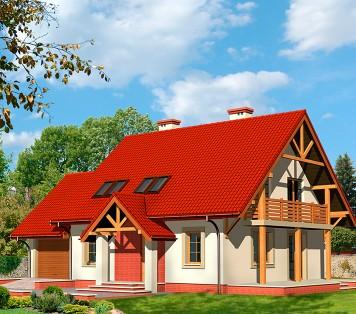 Projekt domu LK&442