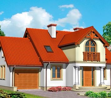 Projekt domu LK&441