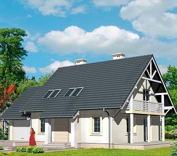 Projekt domu LK&437