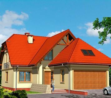 Projekt domu LK&434