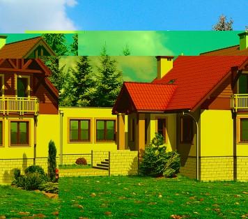 Projekt domu LK&425