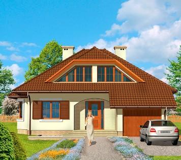 Projekt domu LK&420