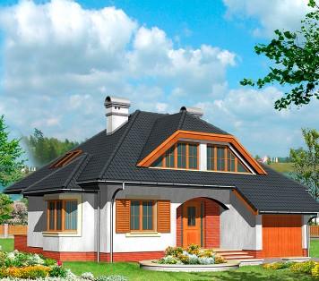 Projekt domu LK&419