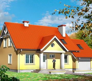 Projekt domu LK&415