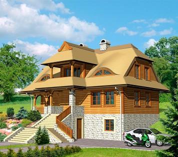 Projekt domu LK&407