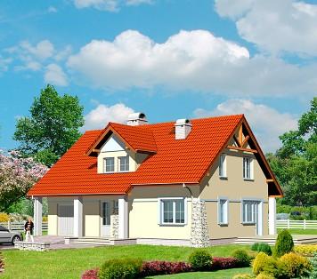 Projekt domu LK&404