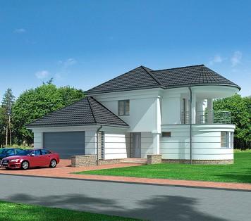 Projekt domu LK&827