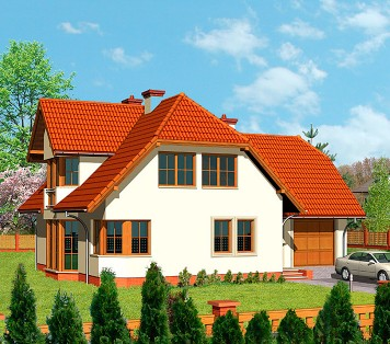Projekt domu LK&384