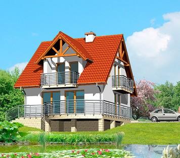 Projekt domu LK&371
