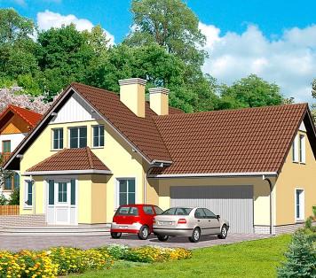Projekt domu LK&346