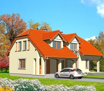 Projekt domu LK&272