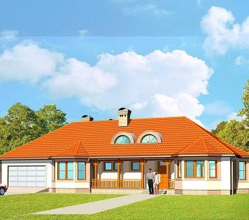 Projekt domu LK&223