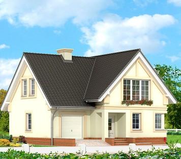 Projekt domu LK&215