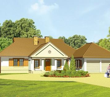 Projekt domu LK&207