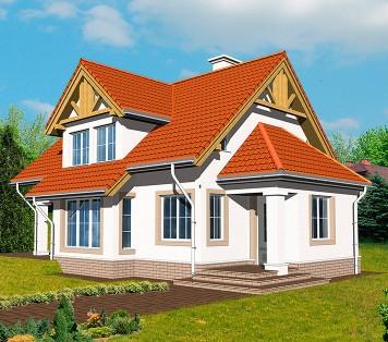 Projekt domu LK&206