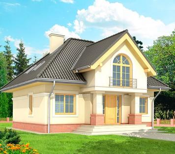 Projekt domu LK&205