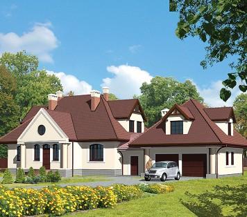 Projekt domu LK&191