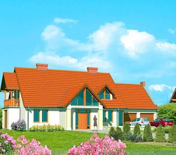 Projekt domu LK&156