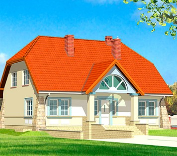 Projekt domu LK&149