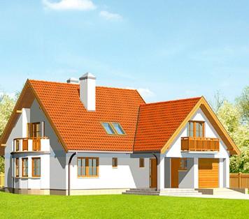 Projekt domu LK&126