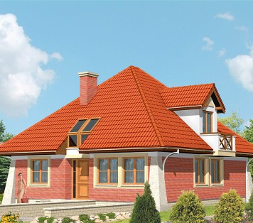 Projekt domu LK&19